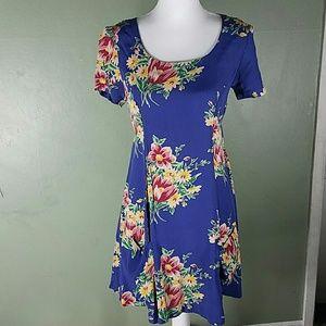 Betsey Johnson VINTAGE floral dress sz 6